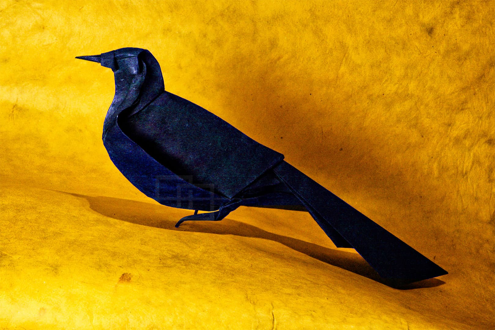 Michael LaFosse Origami Grackle by Himanshu Mumbai India orukami